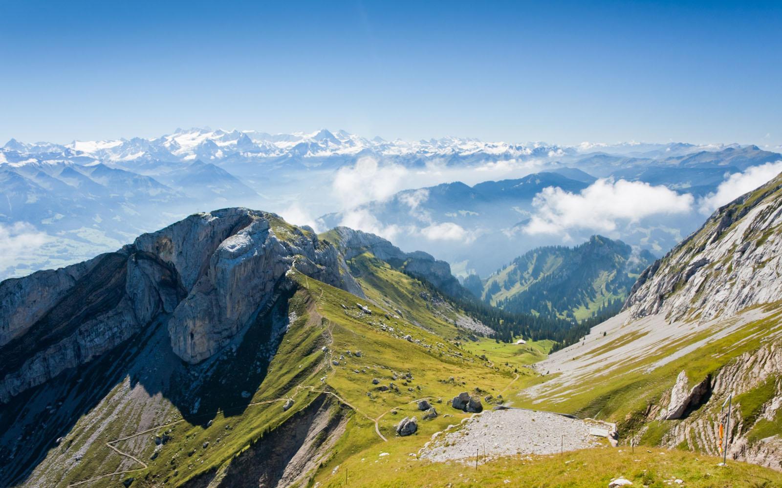 landscape mountain beautiful wallpaper - photo #25