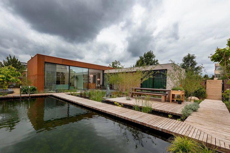 Una casa olandese ecosostenibile