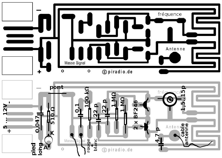 usb fm transmitter pcb layout
