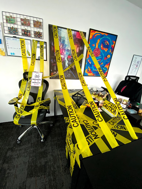 Office prank - Colleague coming back from Medical Leave