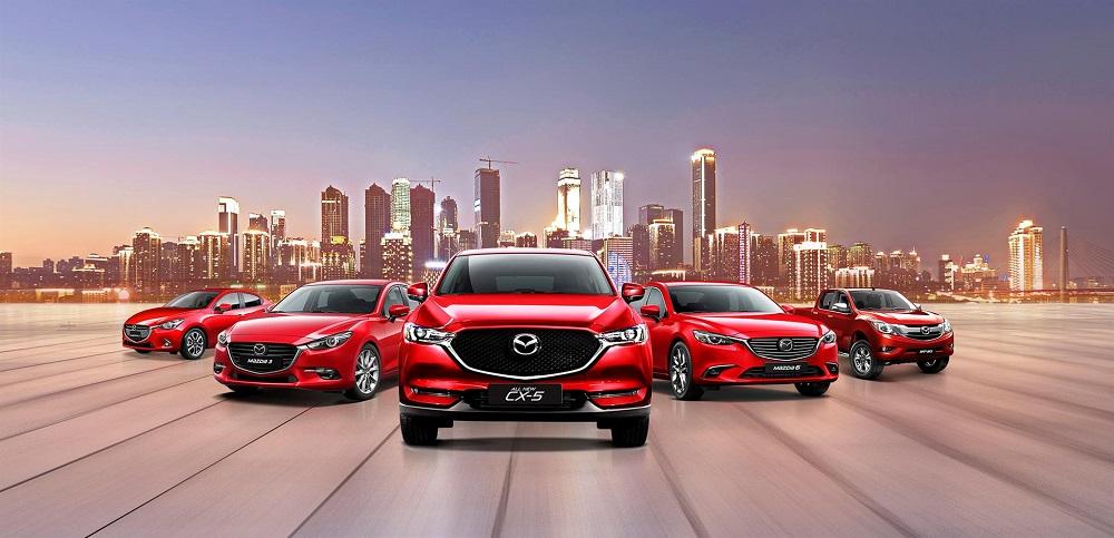 Xe Mazda đồng loạt ưu đãi lên đến 100 triệu đồng