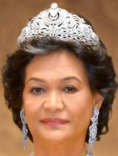 diamond tiara queen sultanah haminah maliha kedah malaysia