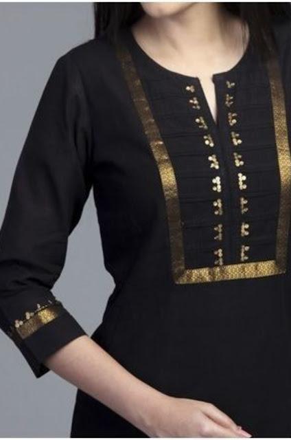 44 Kurta neck designs- kurta patterns
