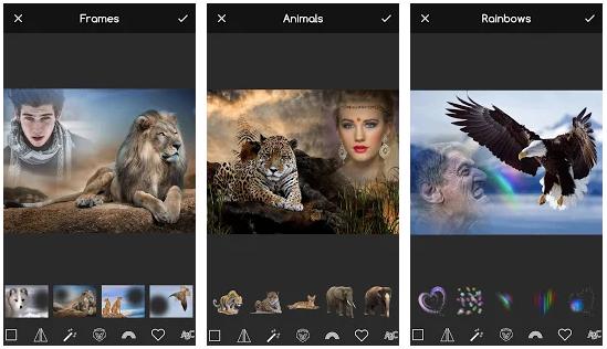 Screenshot Animal Photo Editor App v5.0 Premium