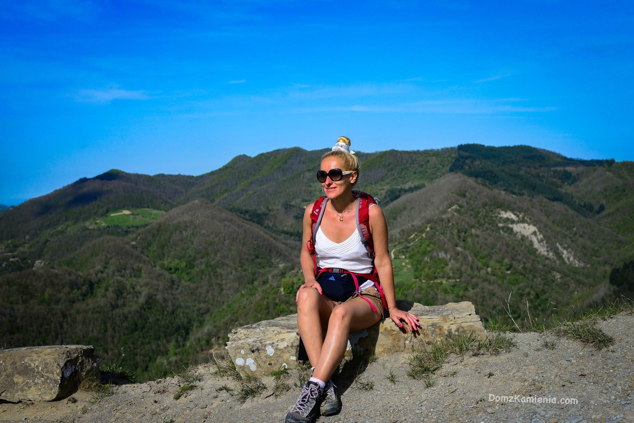 Kasia z Domu z Kamienia, trekking, Monte Lavane