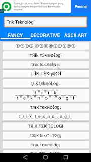 Membuat tulisan alay di Whatsapp