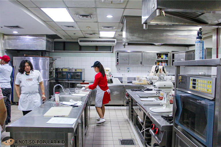 Pastry Classroom in Enderun Extension/College