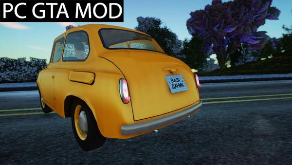 Free Download ZAZ 965M  Mod for GTA San Andreas.