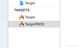 duplicate target create in xcode