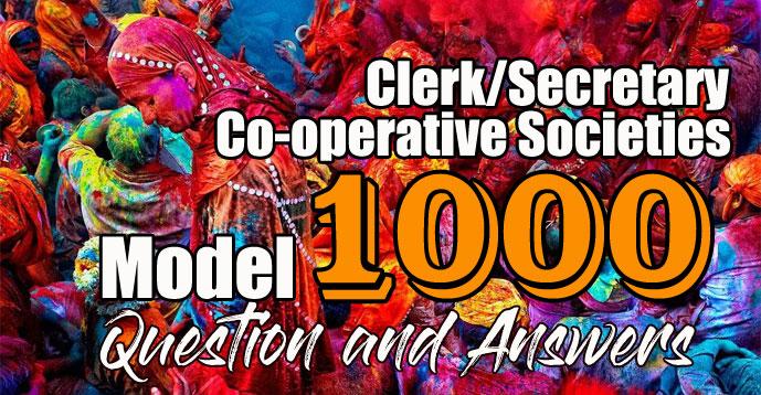 Download Clerk Co-operative Societies Model Questions | Kerala PSC GK