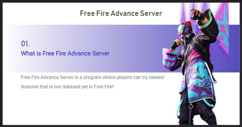 coba fitur baru di ff advance server Juli 2021