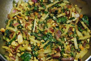 Samoussas aux légumes verts