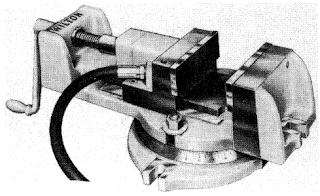 Air hydraulic vice