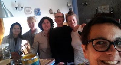selfie de 5 mulheres