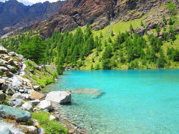 Lago Blu Saint Jacques - Itinerario 2 giorni Valle D'Aosta - gite e vacanze