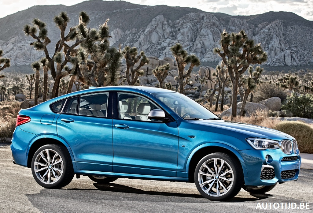 2017 Bmw X4 M40i Gets Fresh Gallery With 28 New Pics
