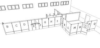 Sekat Partisi Ruang Lobi Kantor - Furniture Semarang
