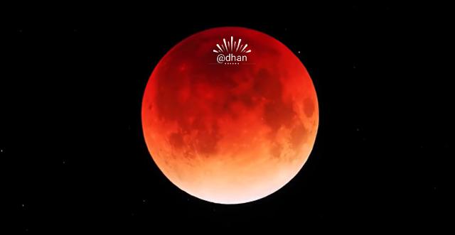 Fenomena Gerhana Bulan 2018 : Blue Blood Moon 2018