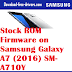 Stock ROM Firmware on Samsung Galaxy A7 (2016) SM-A710Y