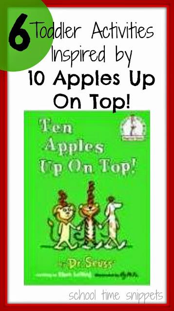 10 Apples Up On Top Activities