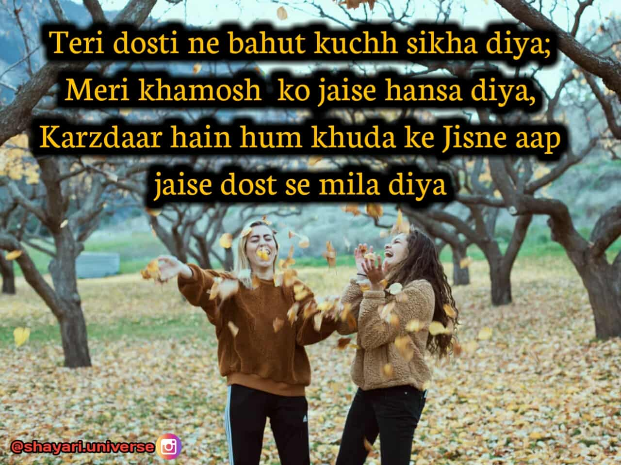friend shayri hindi