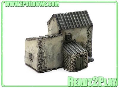 EPS-SP02 - Spanish House, type 1 - £9.95