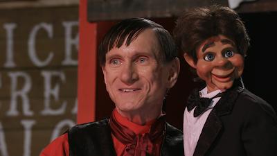 Bill Oberst. Jr and Handy Dandy in DEVIL'S JUNCTION: HANDY DANDY'S REVENGE!