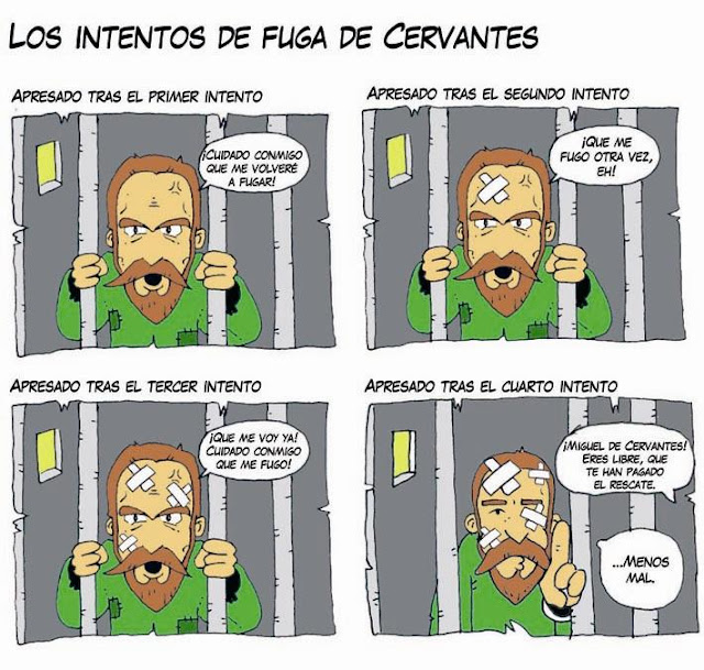 Los intentos de fuga de Cervantes