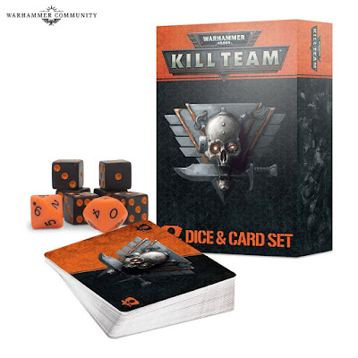 Set tarjetas y dados Kill Team