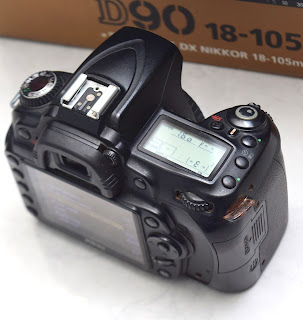 Jual Kamera DSLR Nikon D90 Body Only Fullset Malang