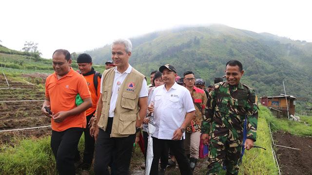 KodimKaranganyar - Gerakan Penanaman Pohon dan Dialog Wisata Alam Oleh Gubernur Jateng