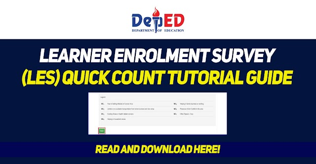 LES Quick Count Tutorial Guide - Download
