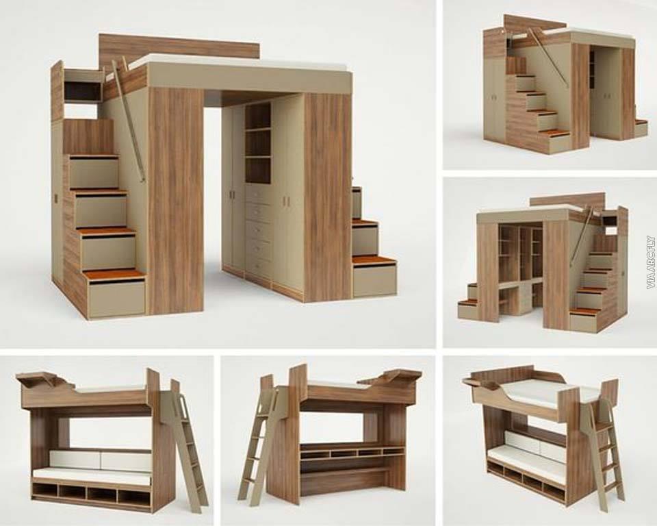 Los mejores muebles inteligentes construccion y for Mejores muebles