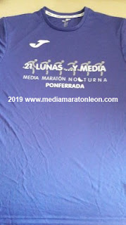 Camiseta 21 lunas y media 2019