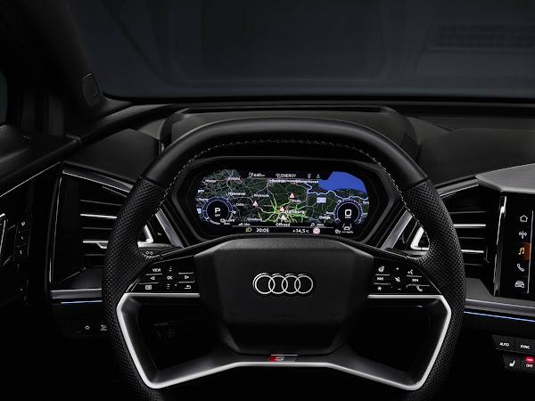 Audi Q4 e-Tron será lançado dia 14 e terá versão Sportback