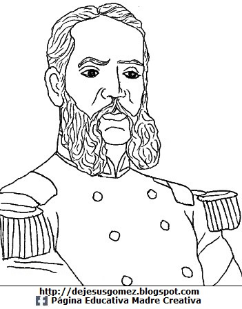 Dibujo de Andrés Avelino Cáceres