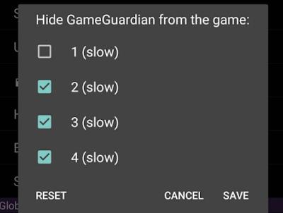 Hide GameGuardian agar tidak dibanned