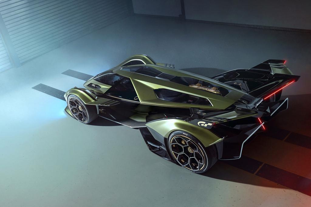 Lamborghini trưng bày concept lấy cảm hứng từ game đua xe