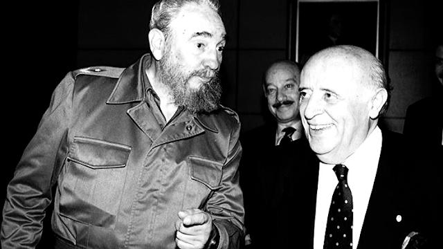 Süleyman Demirel ve Fidel Castro