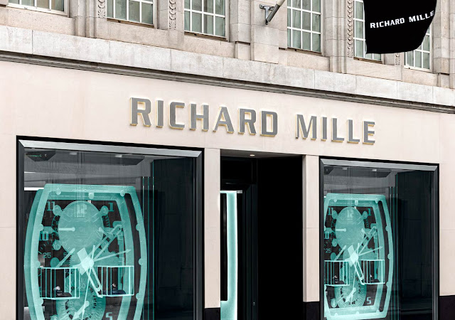 Richard Mille's London Boutique relocates to Old Bond Street