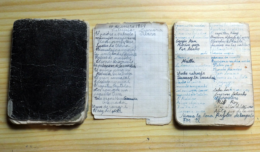 cuaderno películas josé maría mezquita
