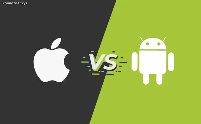 مقارنة شاملة بين Android و iOS