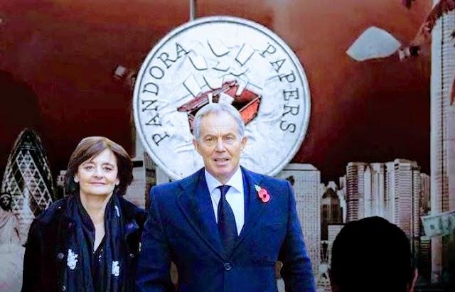 Exprimer ministro británico Tony Blair y su esposa utilizaron una sociedad offshore para evitar el pago de impuestos en la compra de un edificio