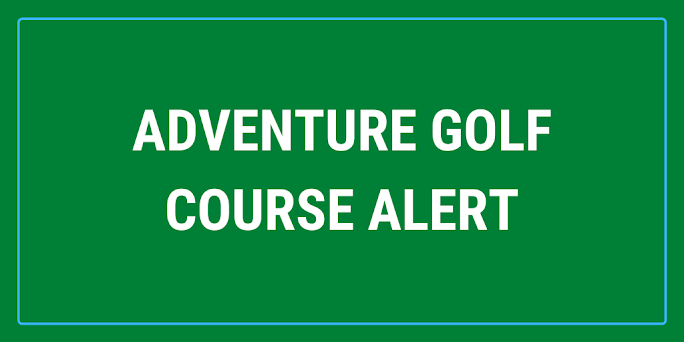 There's a new adventure golf course in Hove, East Sussex