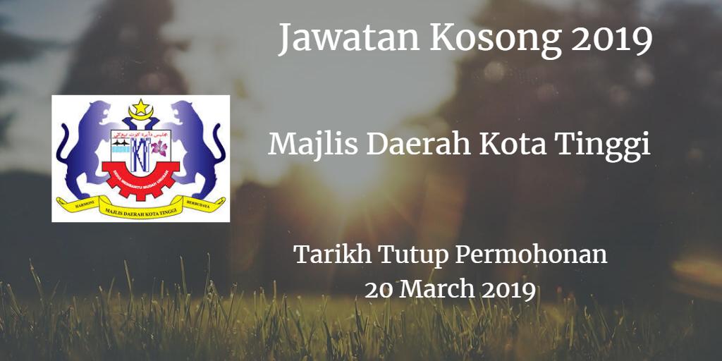 Jawatan Kosong MDKT 20 March 2019