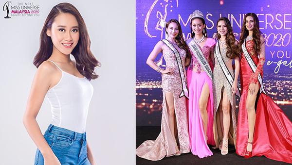 Francisca James es Miss Universe Malaysia 2020