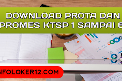 Download Program Tahunan (Prota) Dan Program Semester (Promes) KTSP SD Kelas 1 - 6