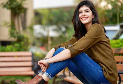 Beautiful Actress Sanjana Sanghi  IMAGES, GIF, ANIMATED GIF, WALLPAPER, STICKER FOR WHATSAPP & FACEBOOK