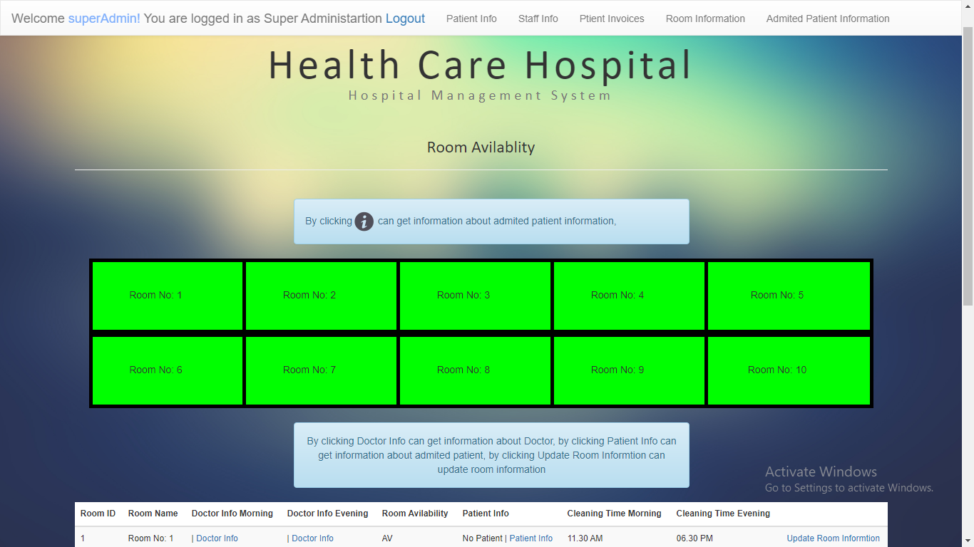 health care hospital system free download