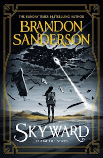 Skyward by Brandon Sanderson cover